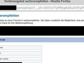【漏洞分析】CVE-2020-35753:Persis人力资源管理门户网站存在跨站脚本漏洞