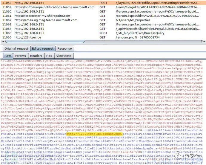 CVE-2020-1456 : SharePoint 2019 XSS漏洞复现