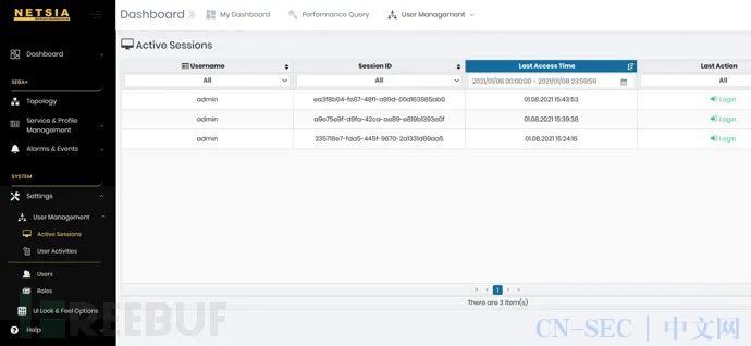 CVE-2021-3113:Netsia-SEBA认证绕过漏洞分析