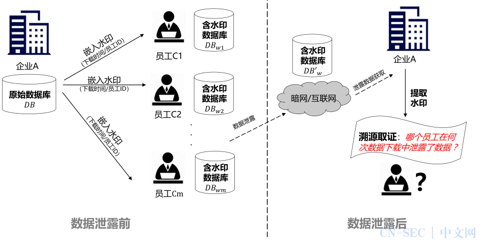 """数据水印技术的独门绝技:为数据安装可追踪""""ID"""",数据泄露溯源追责有章可循"""