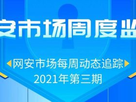 2021年网安市场周度监测(第三期)