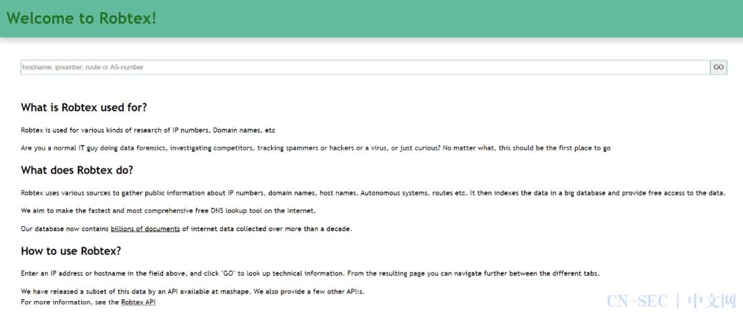 开源情报工具——个人信息、IP位置篇
