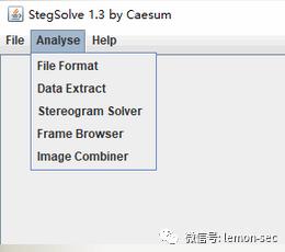 stegsolve---图片隐写查看器