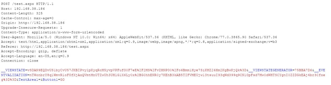 深入 .NET ViewState 反序列化及其利用