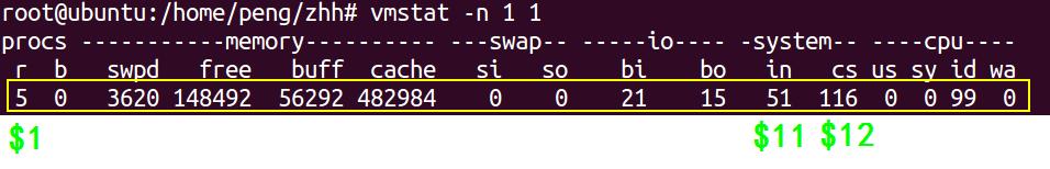 一键获取Linux内存、cpu、磁盘IO等信息脚本编写,及其原理详解