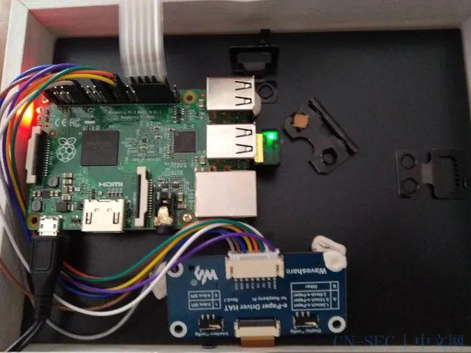 利用树莓派和低功耗显示器来跟踪你的家庭日程表 | Linux 中国