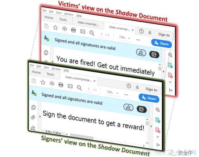 """电子发票有漏洞:""""影子攻击""""可篡改数字签名的PDF文档"""