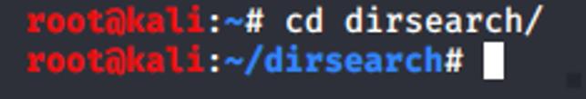 如何使用Dirsearch探测Web目录