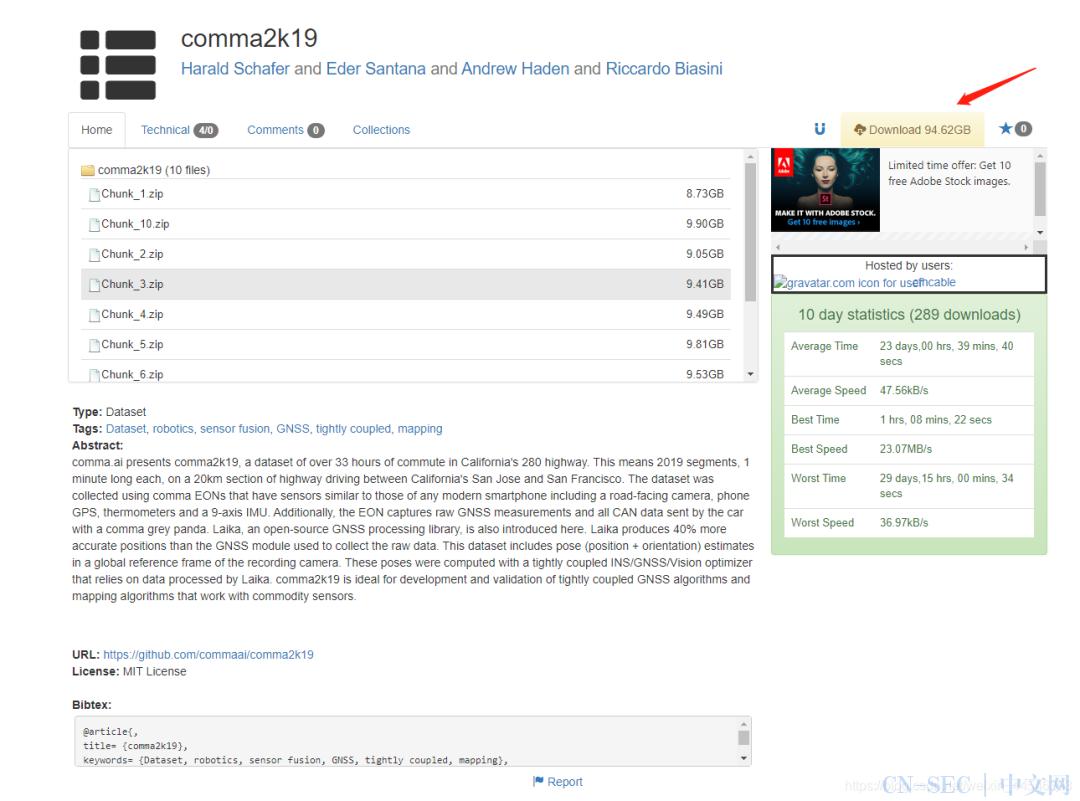 Comma2k19数据集使用