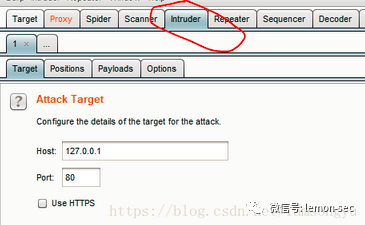 CTF-web 之 burp suite使用