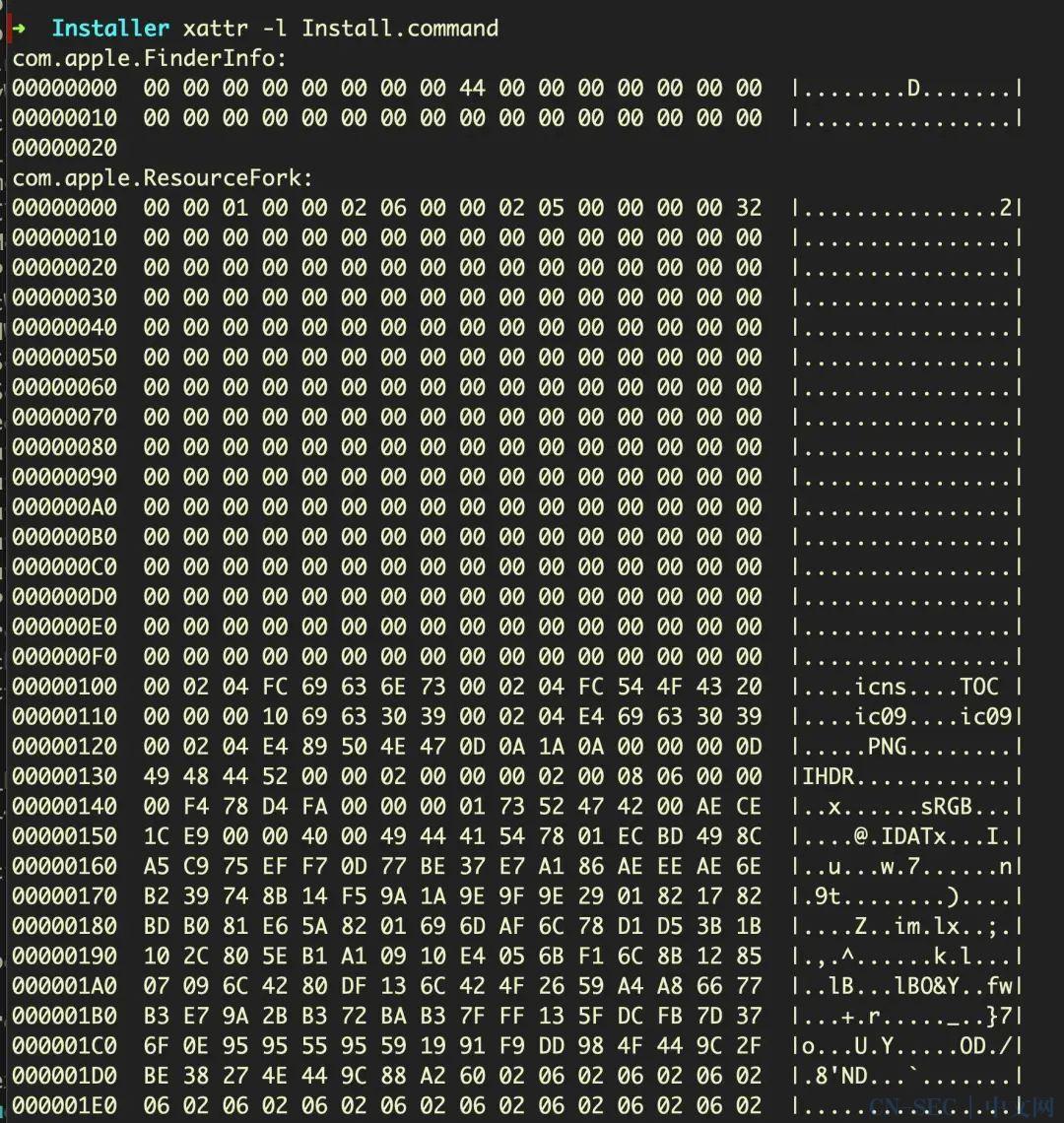 狡猾的macOS恶意软件是如何隐藏在资源派生中的?