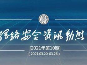 网络安全资讯动态 2021年第10期(总第113期)