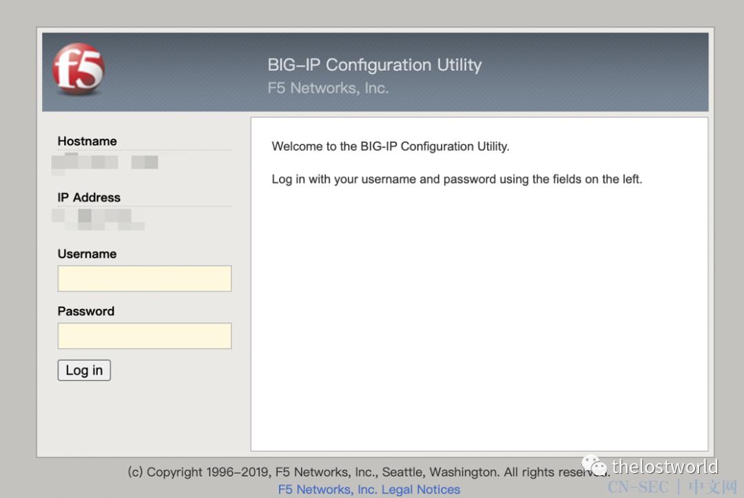 F5 BIG-IP远程代码执行漏洞(CVE-2021-22986)