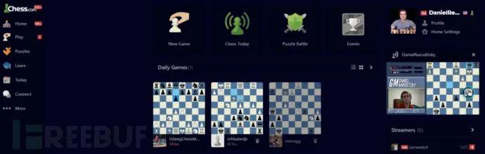 泄露国际象棋对战网站Chess.com五千万用户信息的漏洞分析
