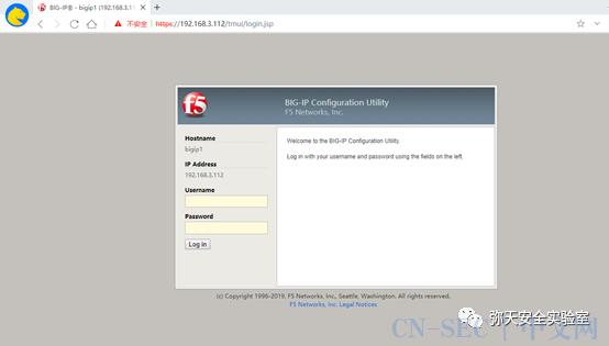 F5 BIG-IP CVE-2021-22986远程代码执行