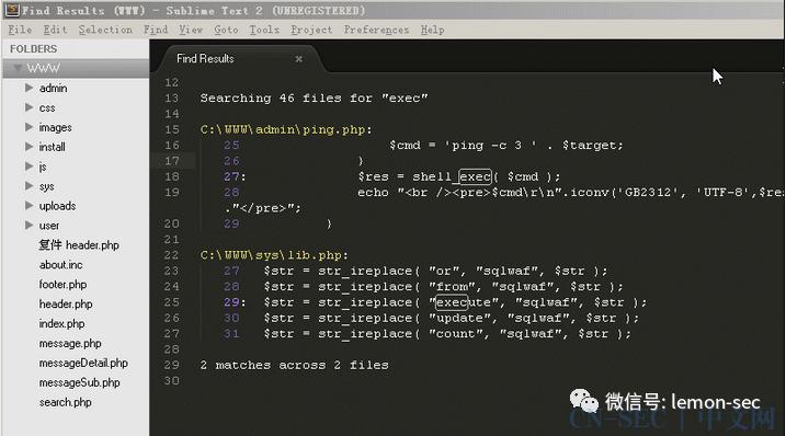 CTF-web--命令注入