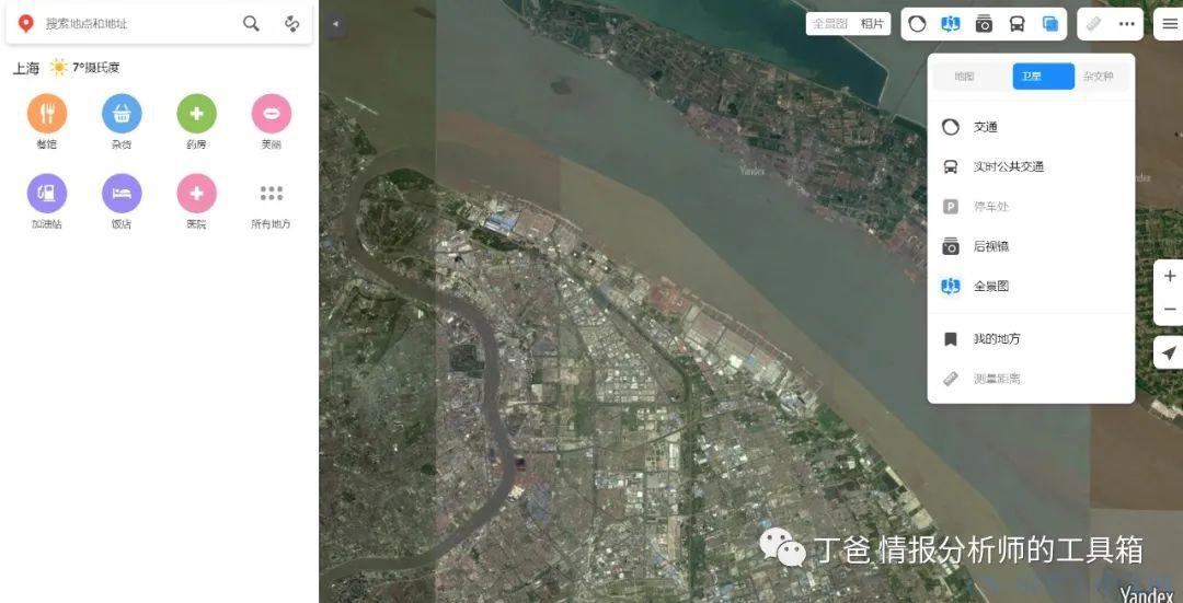 【工具】开源情报分析师都在用哪些地图工具?