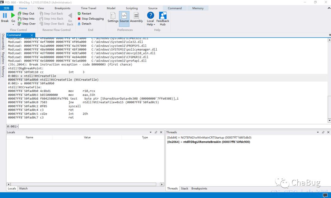使用C#进行直接系统调用syscall