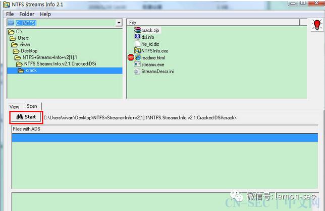 谈谈NTFS数据流文件