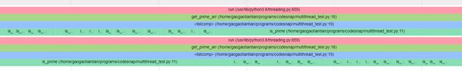 用一个开源工具实现多线程 Python 程序的可视化