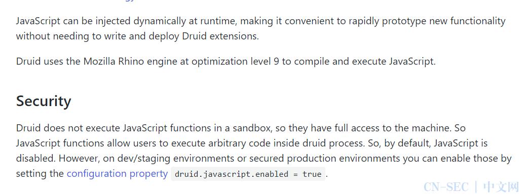 【技术分享】CVE-2021-25646 Apache Druid 远程代码执行漏洞分析