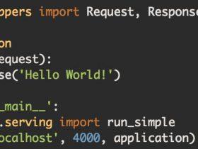 打造python web 框架(四): 采用Werkzeug + jinjia2 进行架构