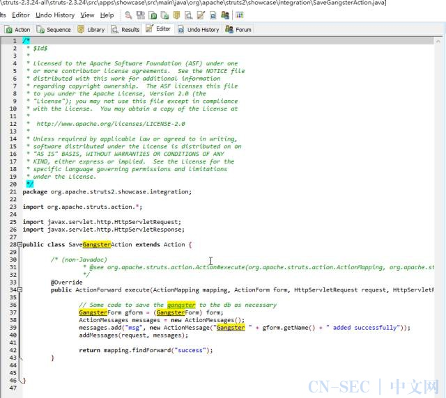 Struts(S2-048)远程命令执行漏洞分析