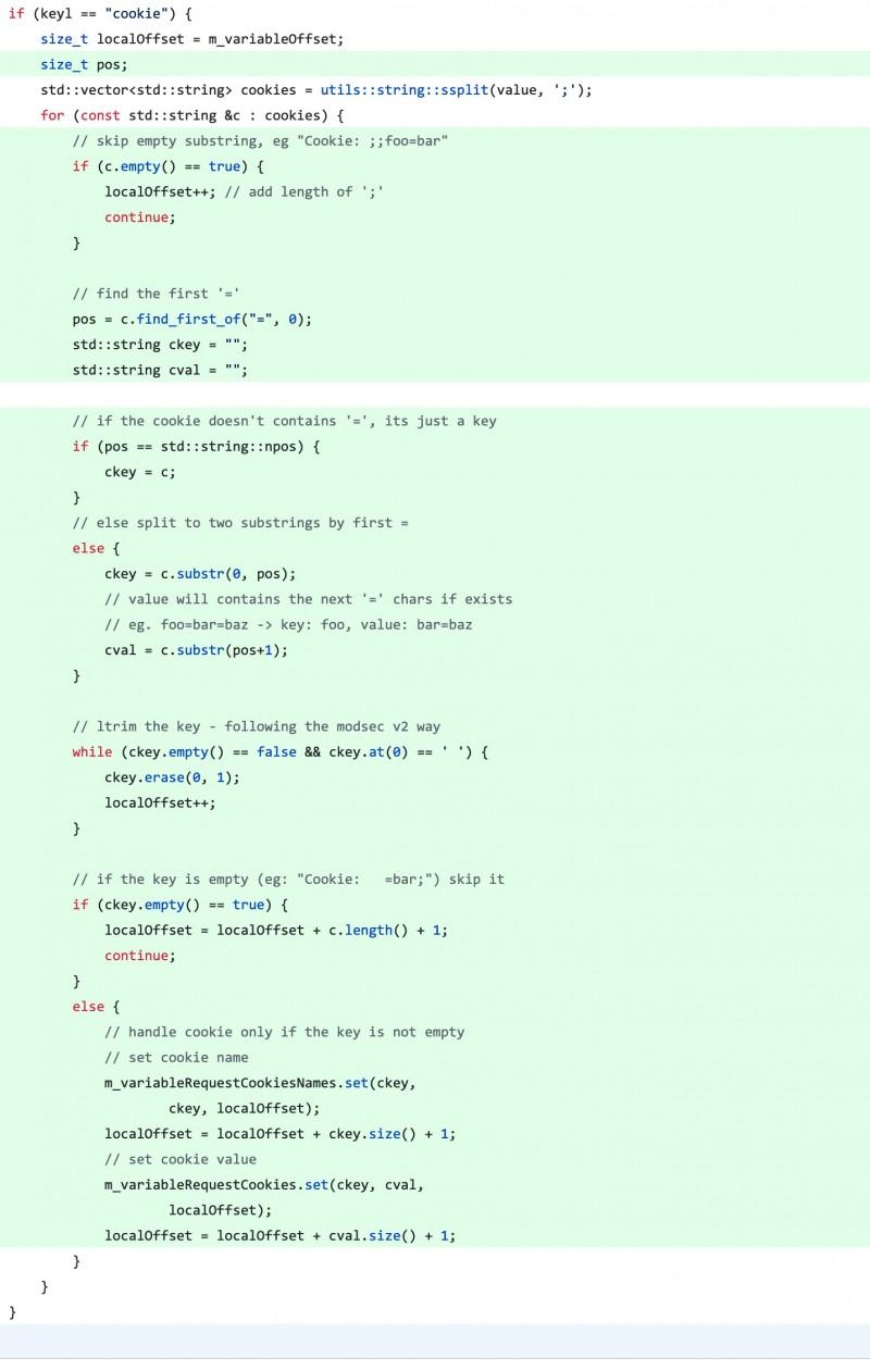 ModSecurity 拒绝服务漏洞 (CVE-2019-19886) 复现