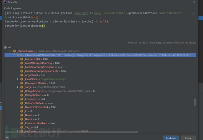 蓝军反治系列之打造weblogic的持久化内存马后门