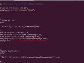 神兵利器 - SecretScanner(在容器映像和文件系统中查找密码)