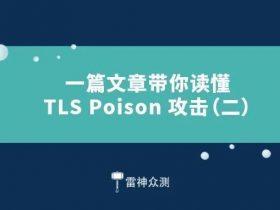 一篇文章带你读懂 TLS Poison 攻击(二)