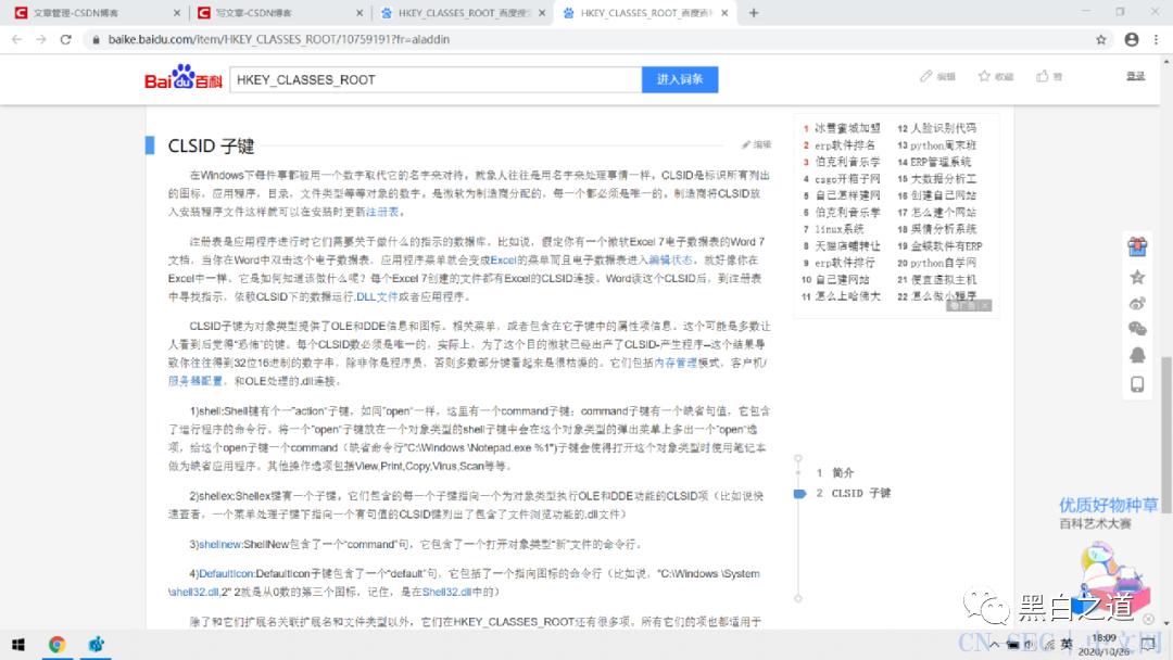 """病毒:注册表的认识以及用c语言编写一个""""百分之一熊猫烧香"""""""