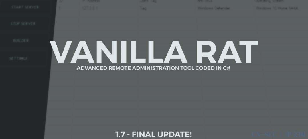 VanillaRat功能代码分析