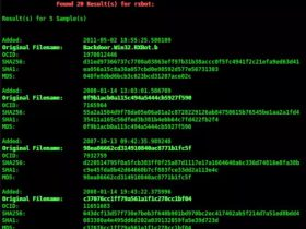 Malwaresearch:在Openmalware.org上查找恶意软件的命令行工具