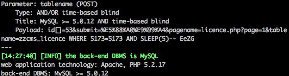 [开学前的0day福利]ZZCMS的前台多处SQL注入