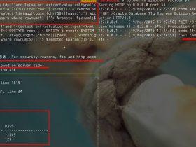 oracle 11g后db权限xxe盲注的快速获取大量数据的一些小技巧