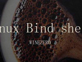 反弹shell之Linux Bind shell