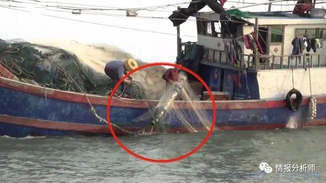我国渔民又立功了,捕获不明水下装置,长期实施对华情报收集工作