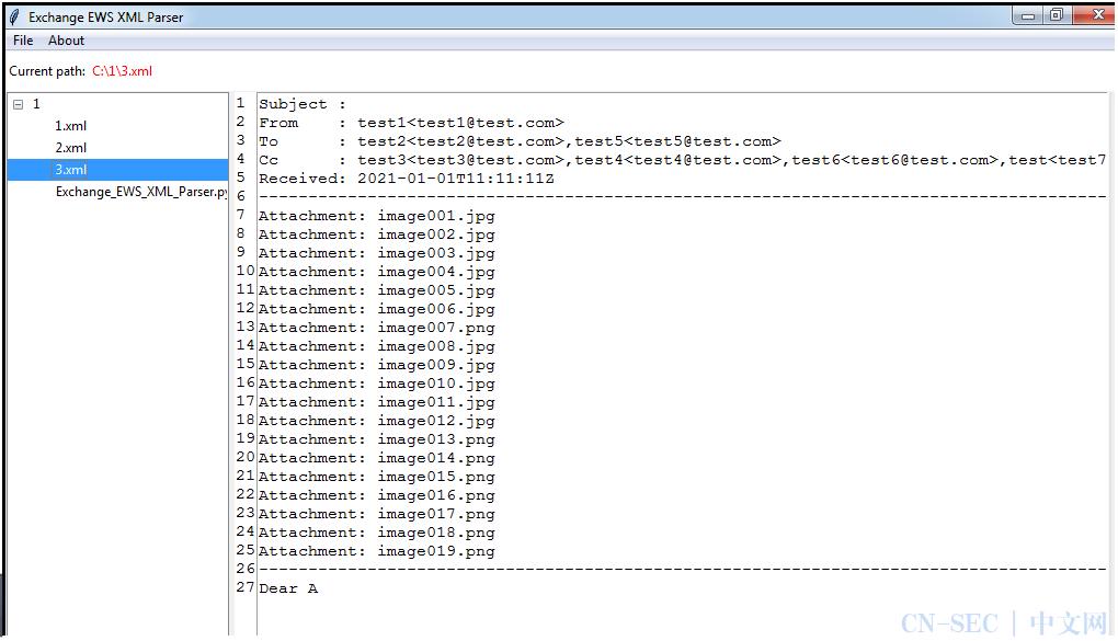 Exchange Web Service(EWS)开发指南3——SOAP XML Parser