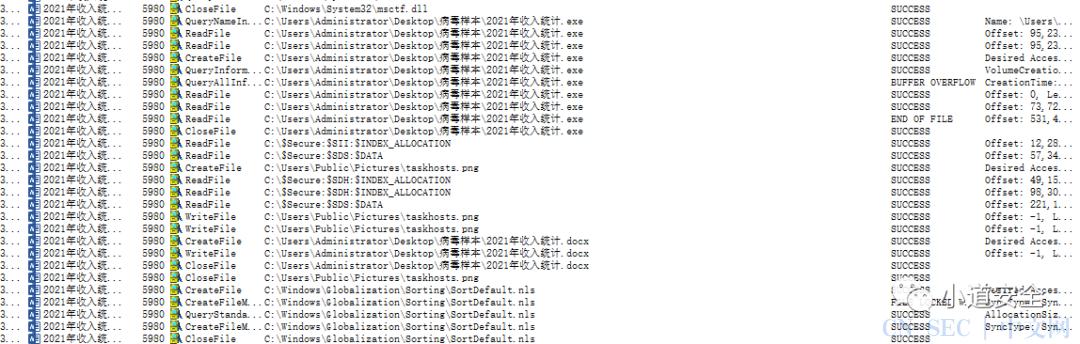 对伪装docx文件病毒的逆向分析