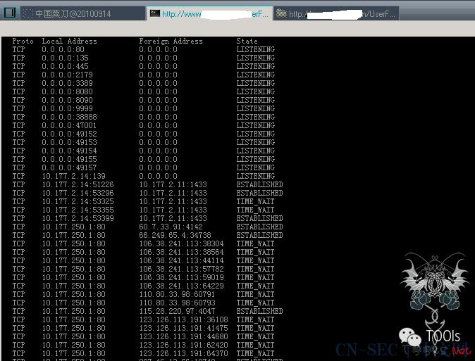 检测某国外知名集团中国网站(进内网)实例纪实