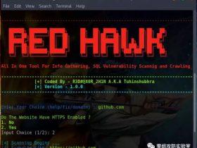 RED_HAWK:基于PHP实现的信息收集与SQL注入漏洞扫描工具