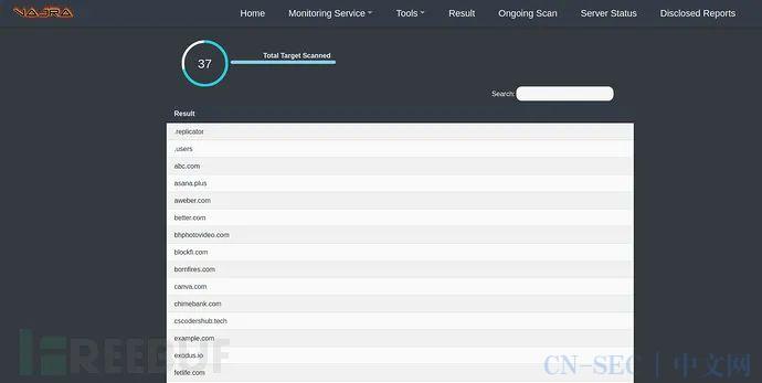 一款自动化web渗透测试框架的运用分析
