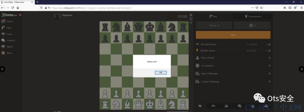入侵Chess.com并获得5千万条客户数据
