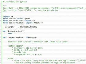 【奇技淫巧】编写简单tamper绕过encode编码