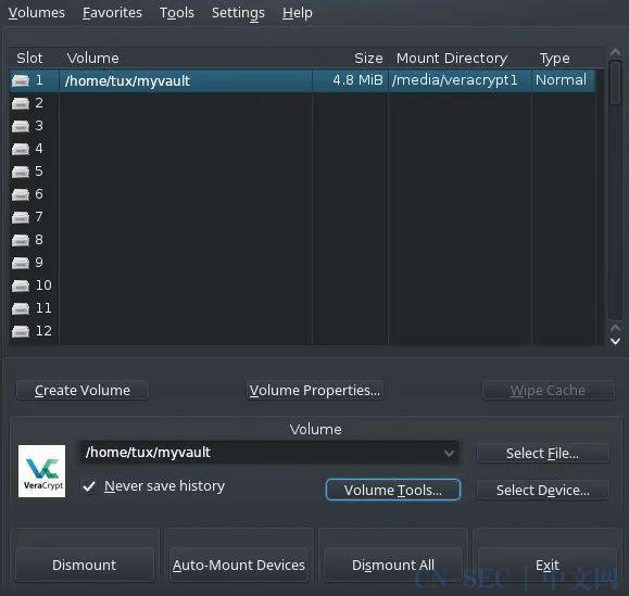 用开源的 VeraCrypt 加密你的文件 | Linux 中国
