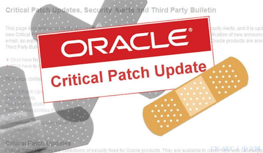 运营商Rogers大规模服务中断,全加拿大均受影响;Oracle发布安全更新,修复多个产品中的390个漏洞