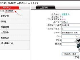 网奇EShop网上商城系统,注射漏洞.