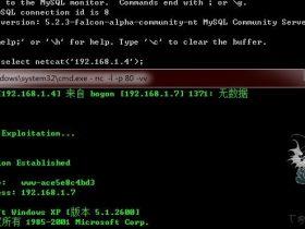 Backdoors for Mysql raptor_winudf